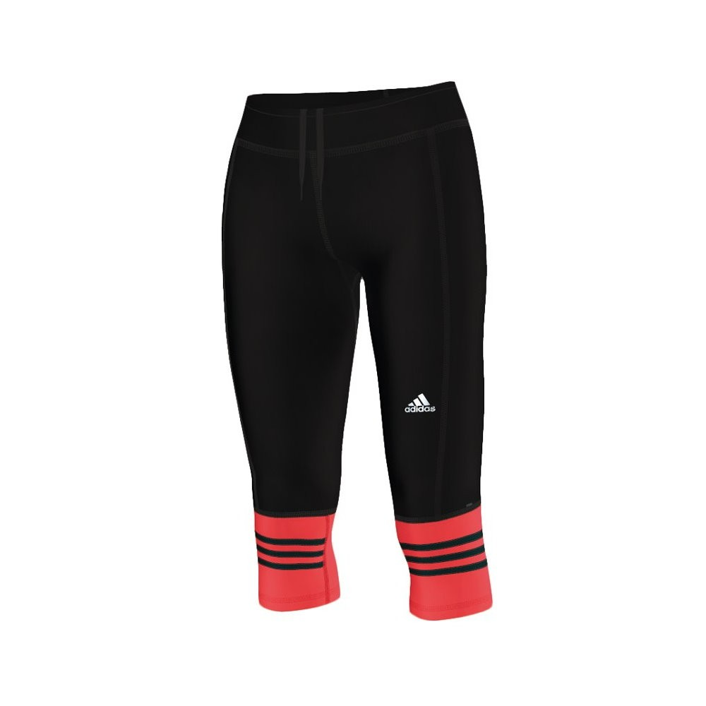 adidas response damen 3 4 lauf tight hose laufhose fitnesshose jogginghose ebay. Black Bedroom Furniture Sets. Home Design Ideas