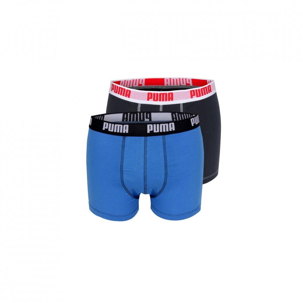 Puma-Herren-Boxershort-Boxer-Short-Unterhose-2er-Pack-verschieden-Farben
