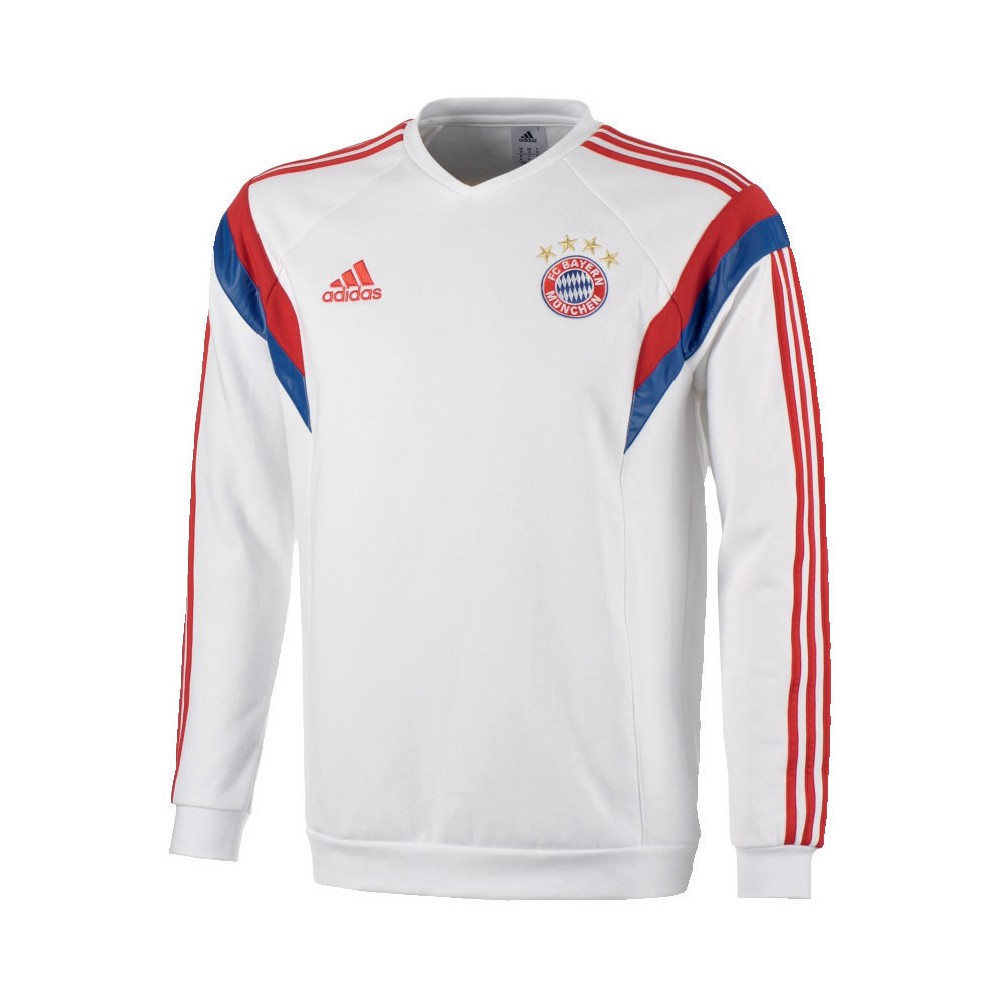 adidas bayern m nchen pullover sweater swatshirt 2014 2015. Black Bedroom Furniture Sets. Home Design Ideas