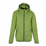 Killtec Toshan Jr. Kinder Strick Fleecejacke mit Kapuze