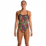 Funkita Damen Badeanzug Pulmonary Party