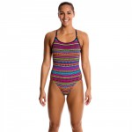 Funkita Damen Badeanzug Diamond Back One Piece Cult Code