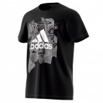 adidas Herren Badge of Sports T-Shirt