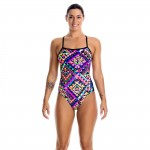Damen Badeanzug Diamond Devil One Piece von Funkita 001