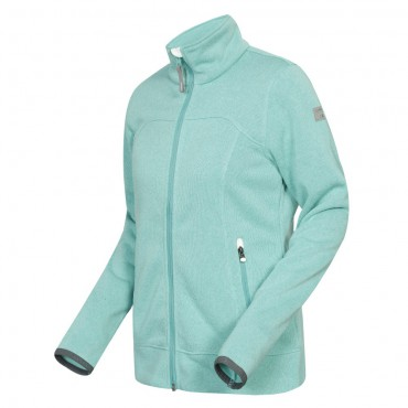 Icepeak Liv Fleece Strickjacke für Damen – Bild 2