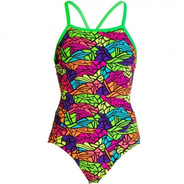 Funkita Damen Badeanzug Paradise Wings One Piece