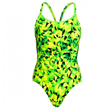 Funkita Damen Badeanzug Diamond Back Supersonic