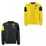 Puma BVB Borussia Dortmund Trainings Sweat Pullover Pulli 2014 / 2015