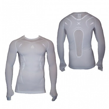 adidas TechFit PREPARATION Longsleeve Shirt weiß