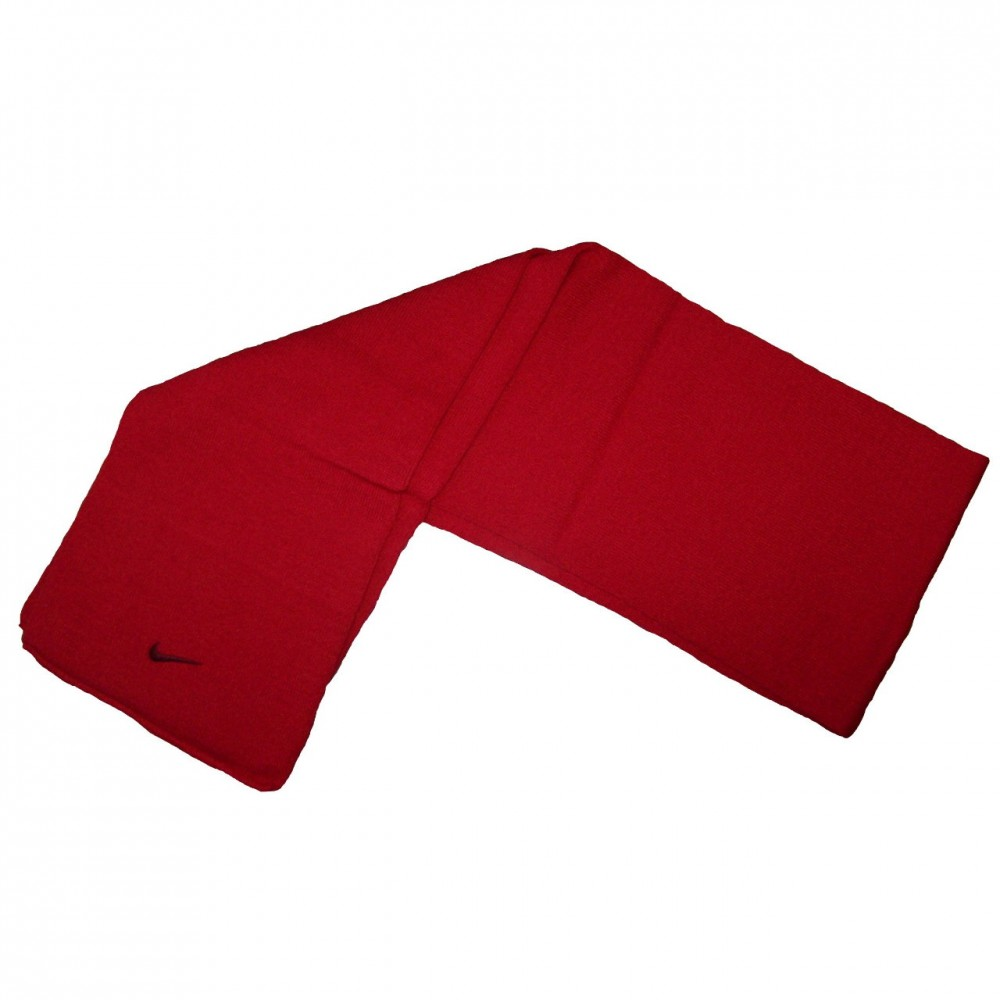 Strick Schal Rot