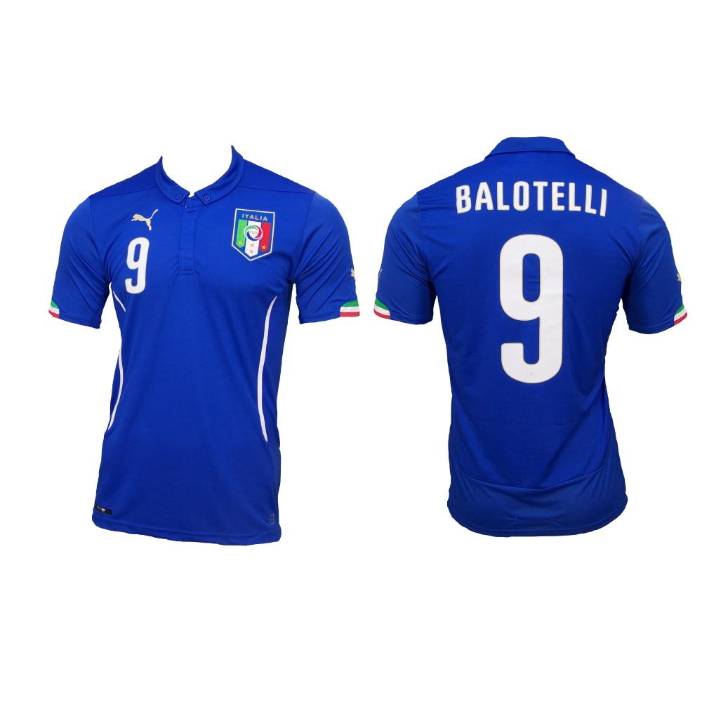Balotelli Italien Heim Trikot WM 2014